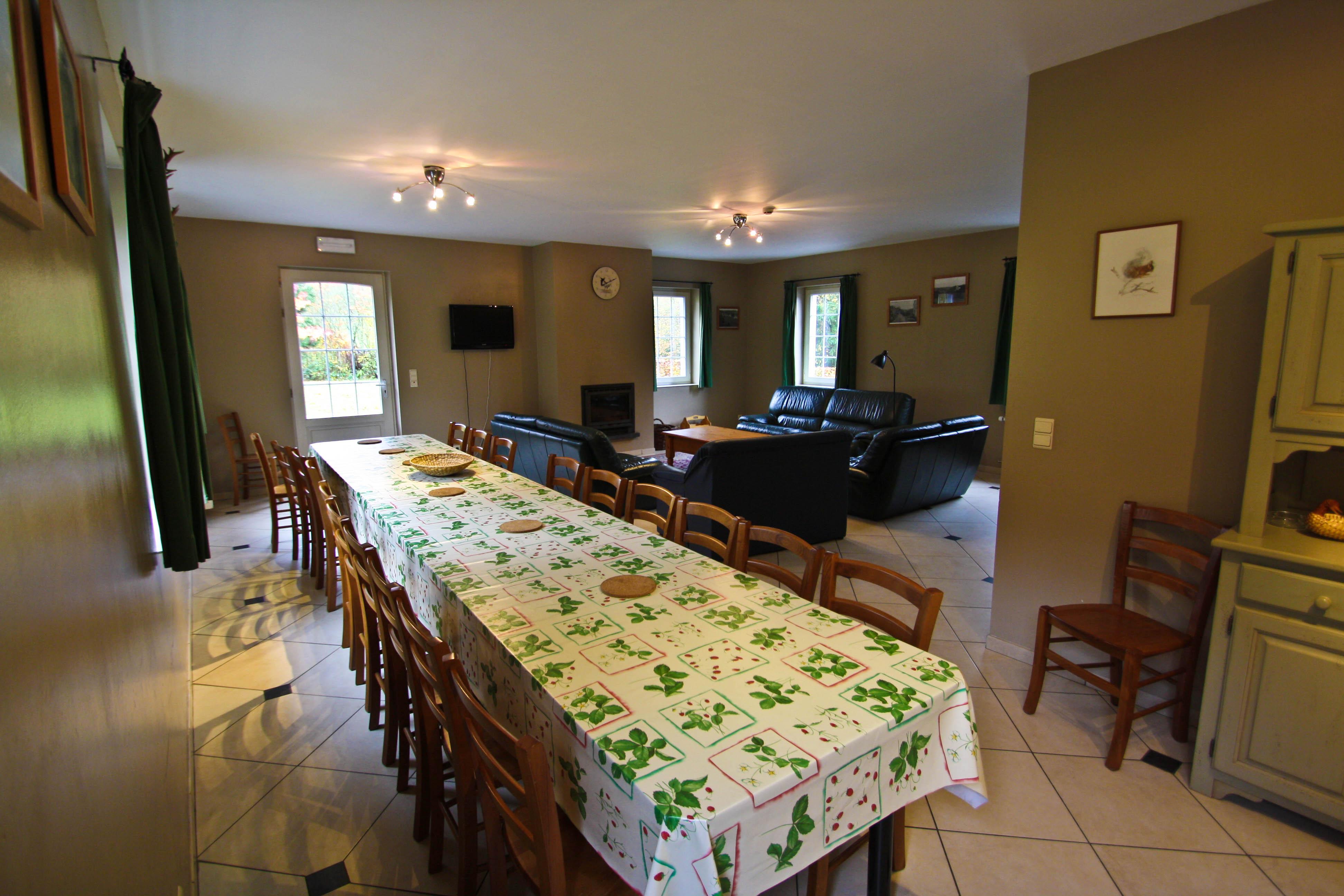 La Chevalerie Salon/salle à manger