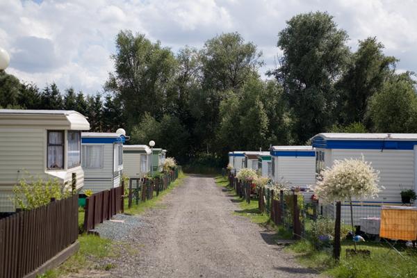 Camping le Pachy - Allées caravanes