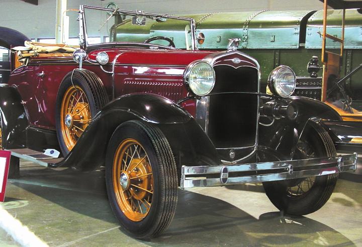 Le Musée de l'Auto, collection Mahy