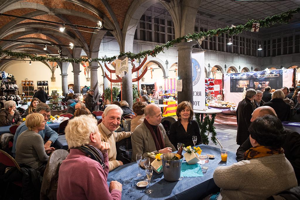 Halle de Noël de Tournai