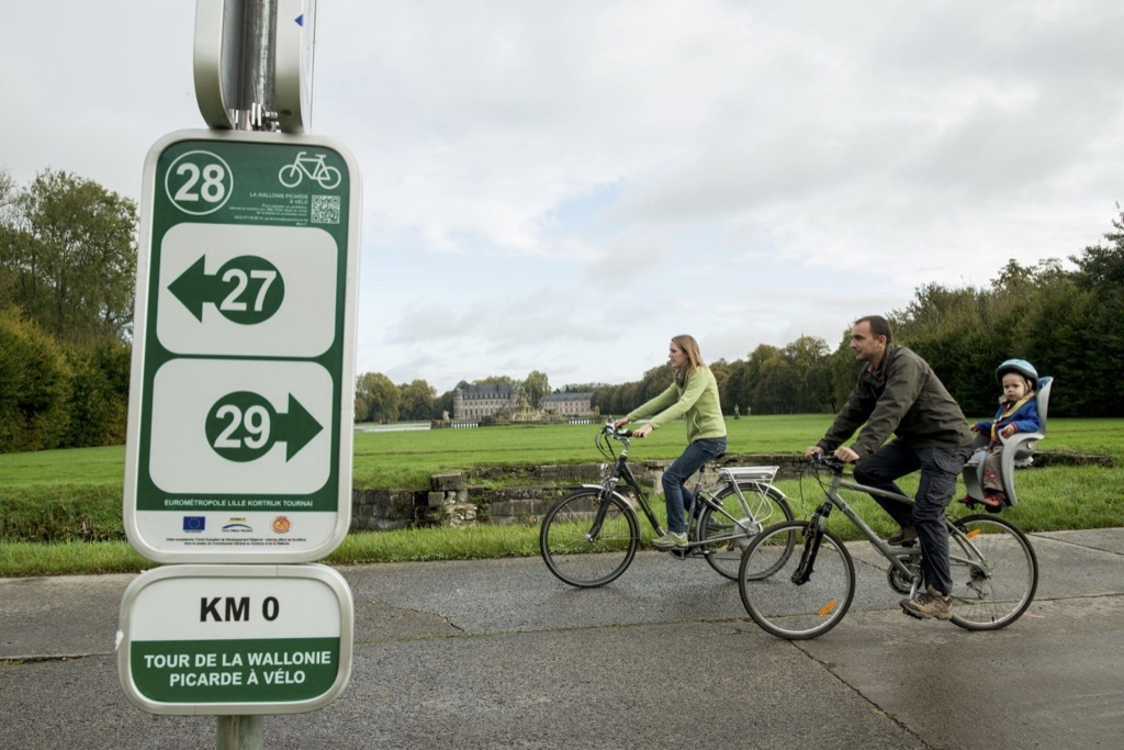 Rallye vélo dans le PArc naturel des Plaines de l'Escaut