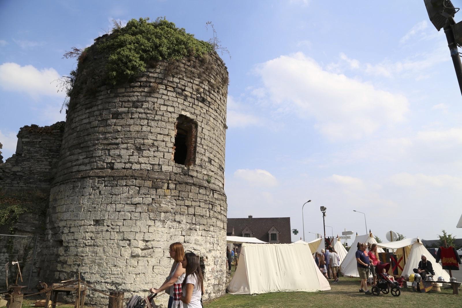 Fête médiévale au Château de Vaulx