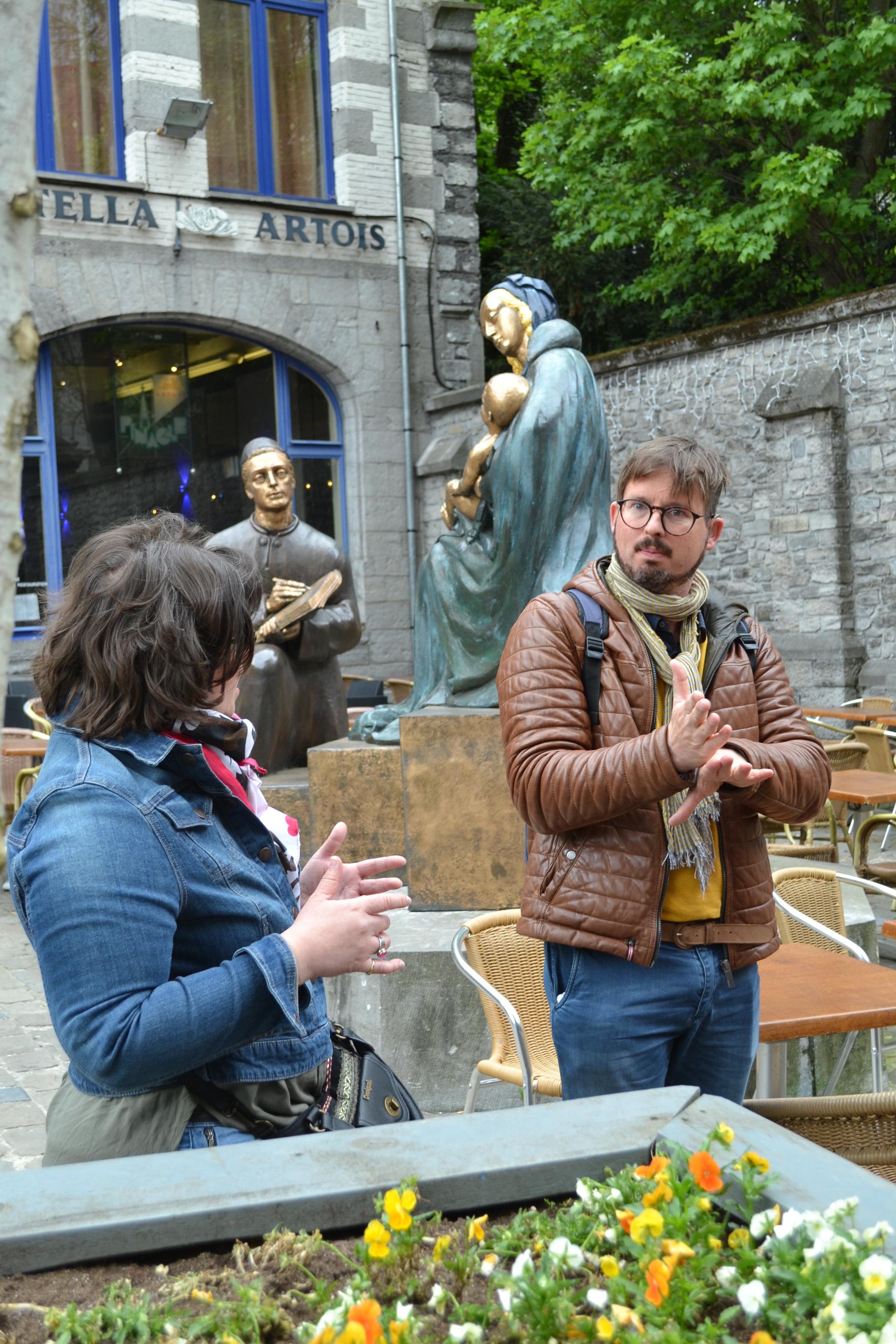 Wapi insolite - Visite guidée en langue des signes