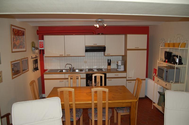Le Noyer - cuisine/salle à manger