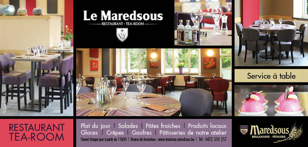 TEA ROOM : LE MAREDSOUS