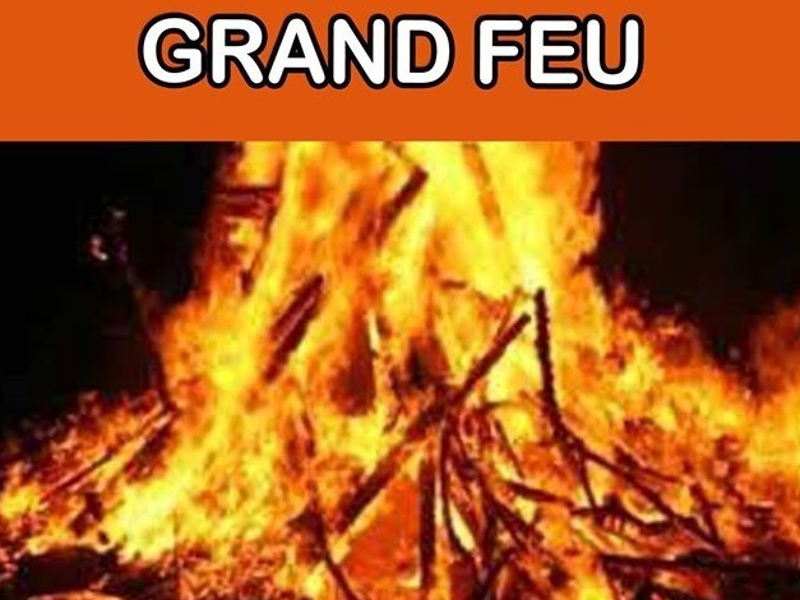 Carnival and big fire in(...)