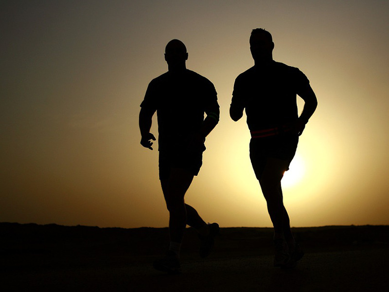 Jogging à Hastière