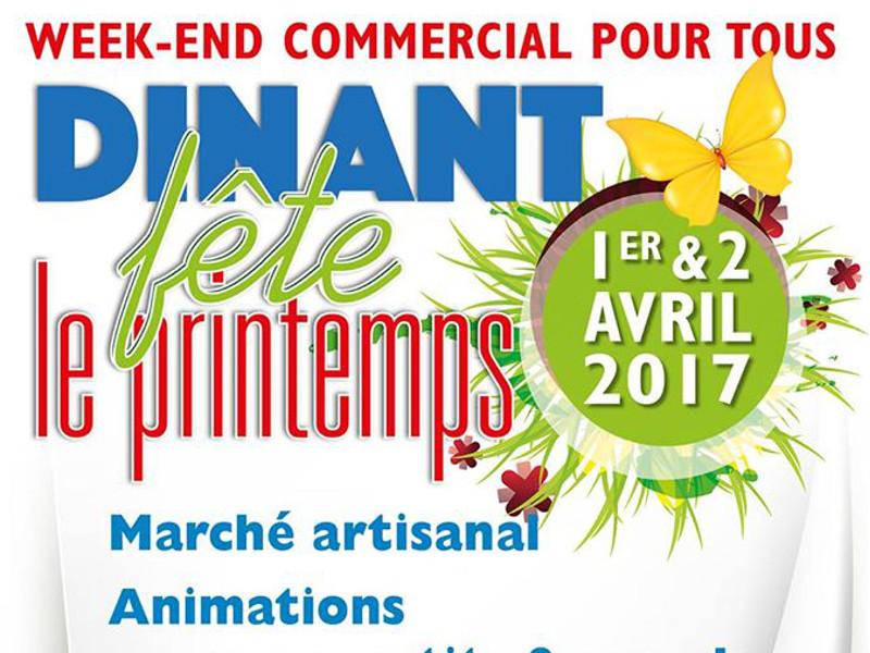 Fête du printemps à Dinant
