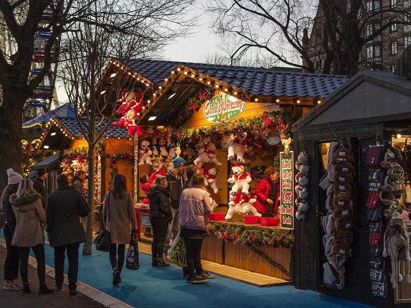 Marché de Noël à Denée