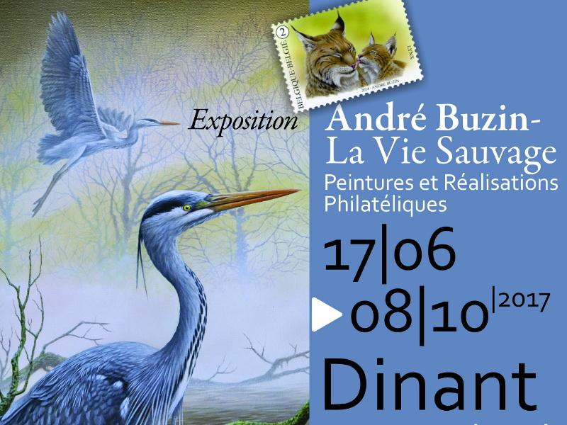 Exposition : André Buzin :(...)