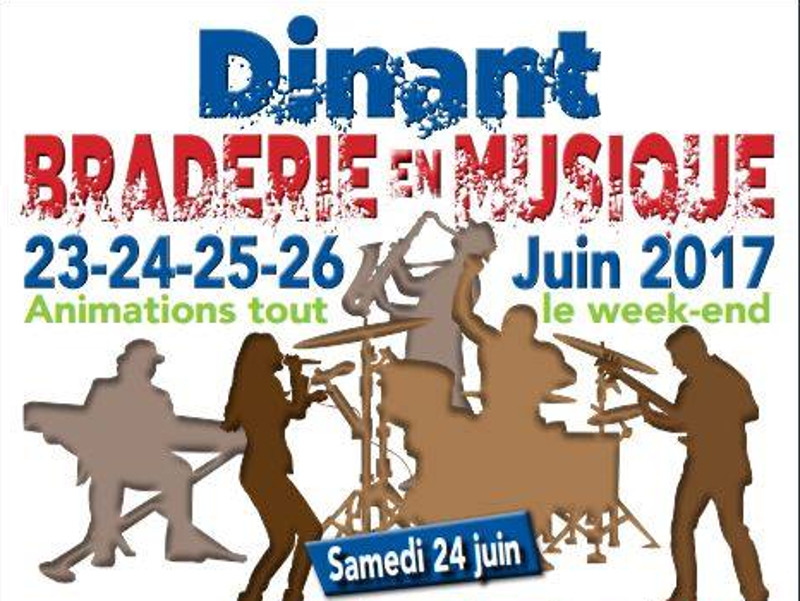 Dinant - Braderie en musique