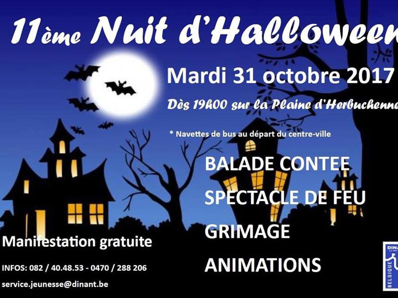 10e nuit d'Halloween à Dinant