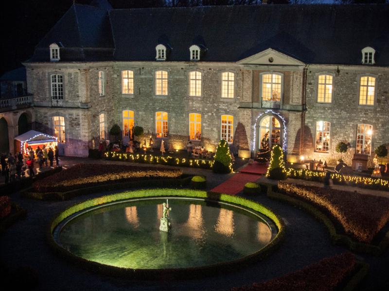 Noël aux Jardins d'Annevoie