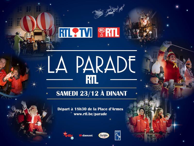 Parade RTL à Dinant