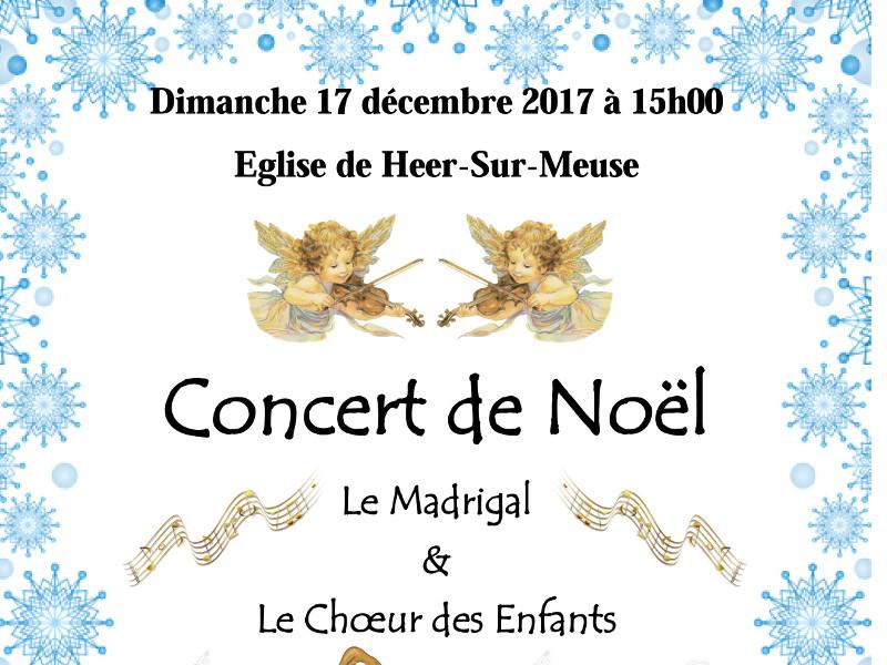Concert de Noël à Heer-sur-Meuse