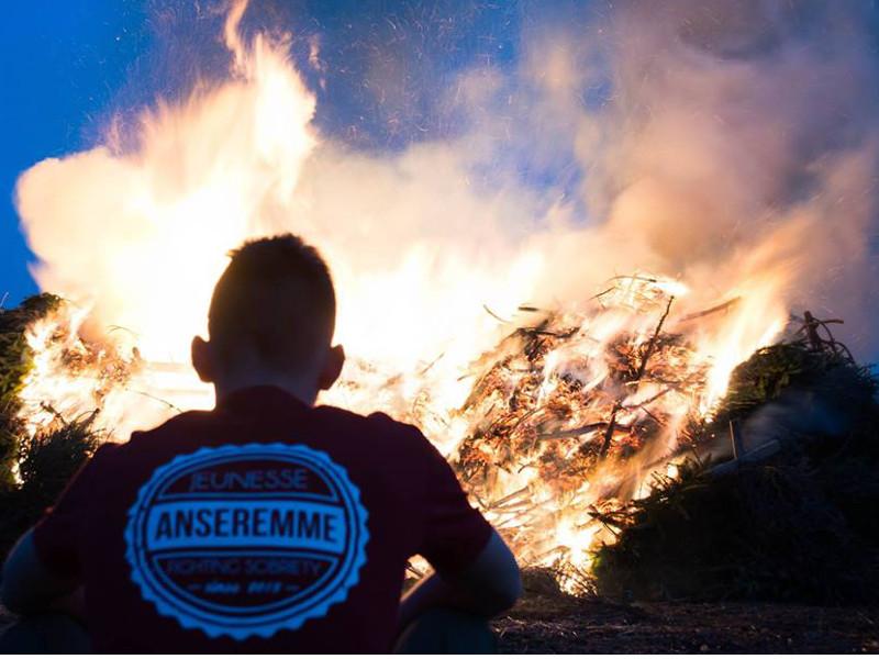 Carnaval et grand feu d'Ansere