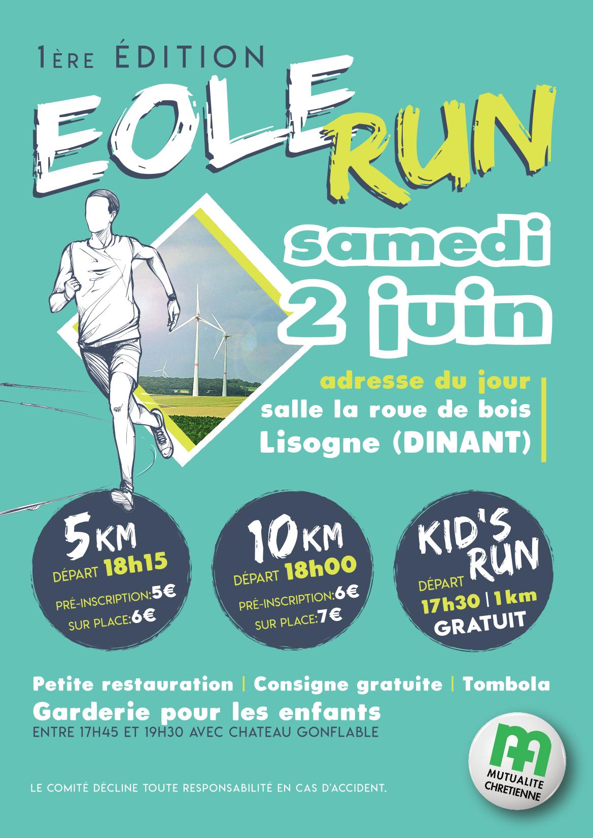 1ère édition de l'Eole Run