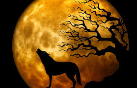Chasse au loup (Halloween)