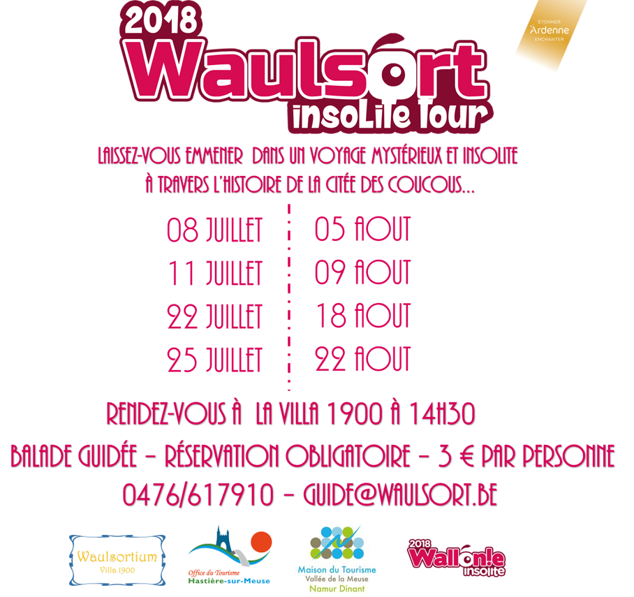 Waulsort Insolite Tour