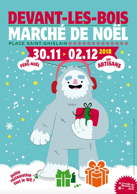 Marché de Noël à Devant-les-Bois