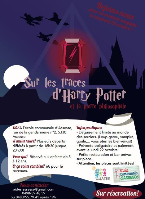 Sur les traces d'Harry(...)