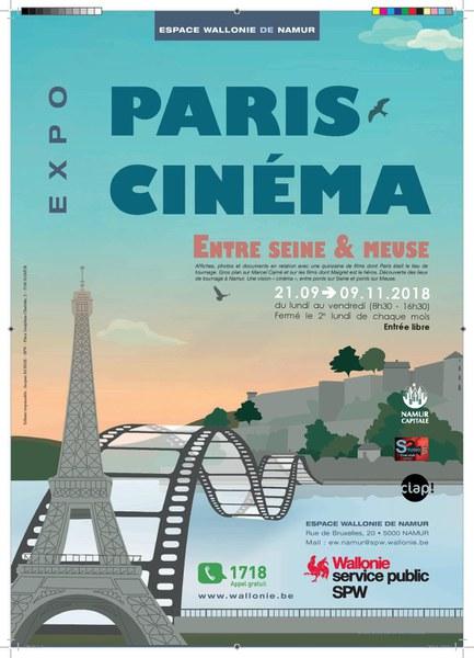 Exposition : Paris-Cinéma(...)
