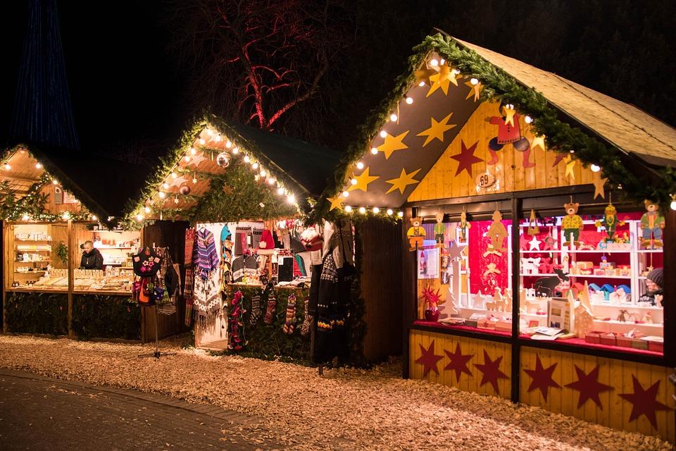 Marché de Noël à Lustin