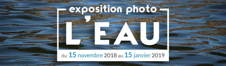 Exposition photo : L'EAU