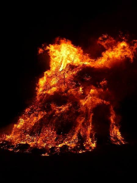 Grand feu de Denée