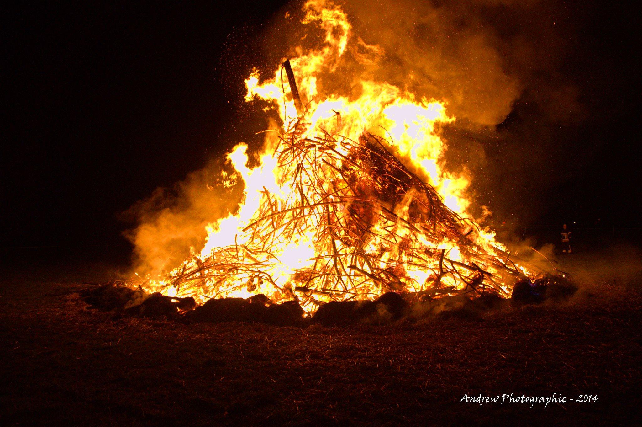 Grand feu de Maison Saint-Géra