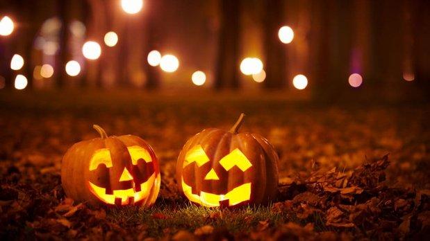 Marche aux flambeaux d'Hallowe