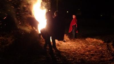Fire in Bovesse
