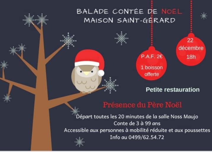 Balade contée de Noël à(...)