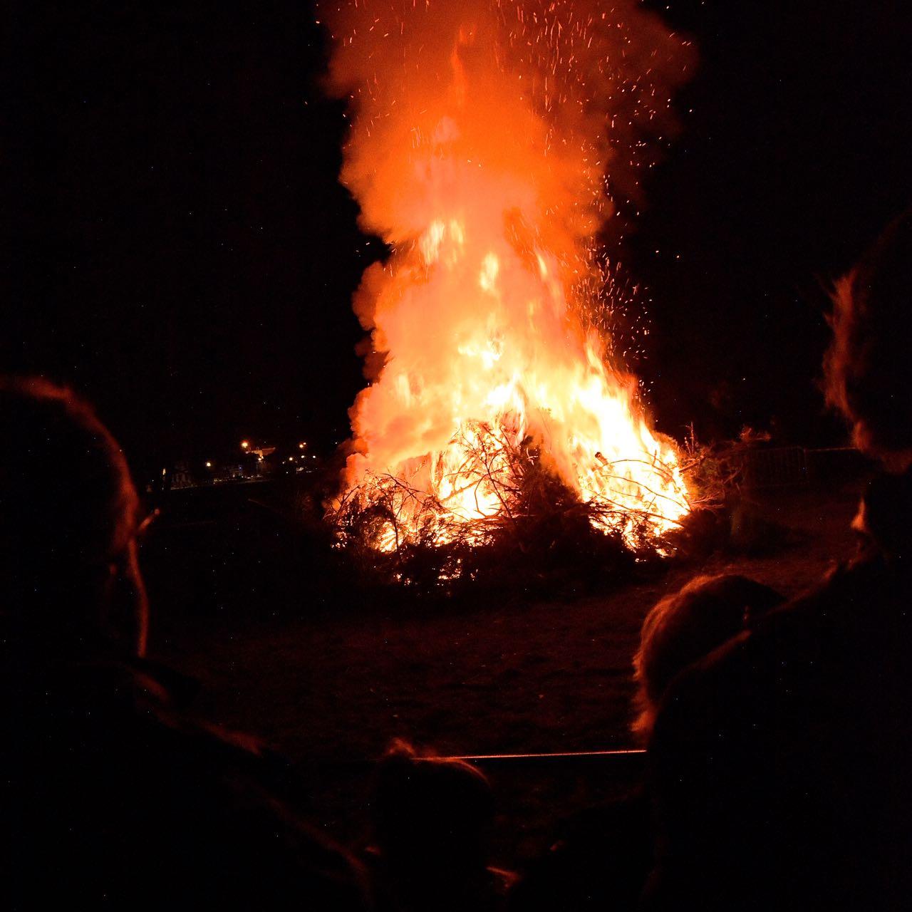 Grand feu de Godinne