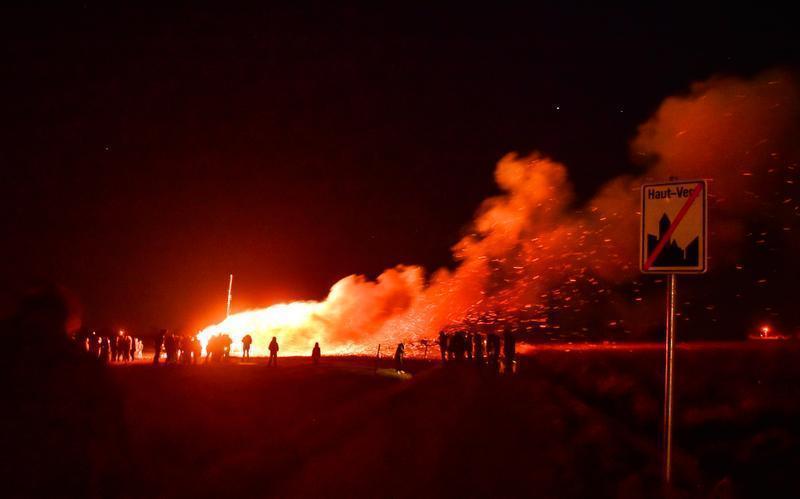 Grand feu du quartier de(...)