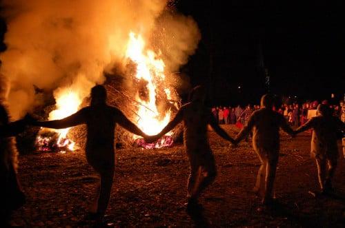 Grand feu du Planois à Biesme