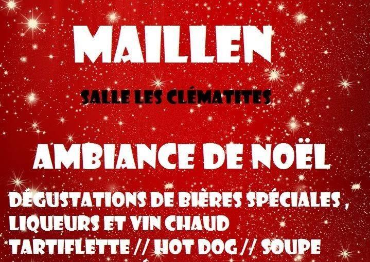 Christmas market in Maillen