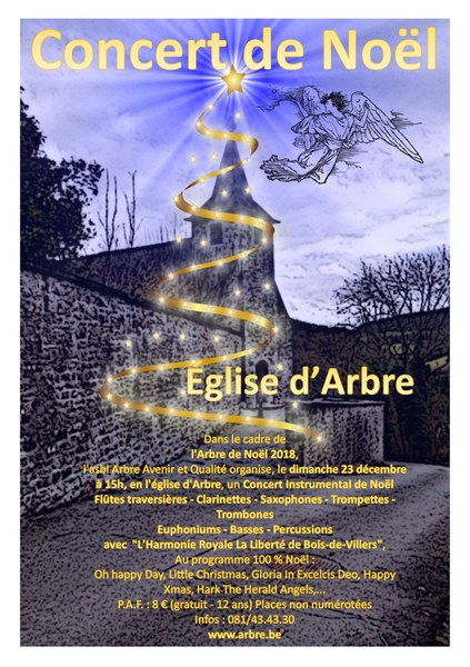 Concert de Noël à Arbre