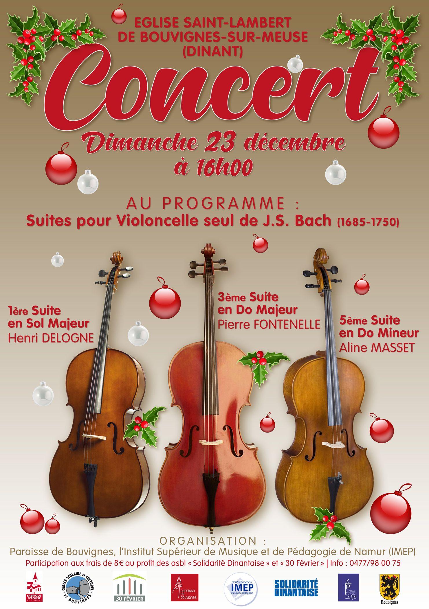 Concert classique à Bouvignes