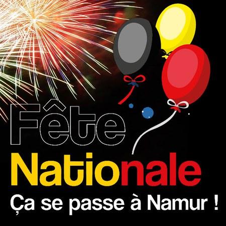 Fête Nationale à Namur