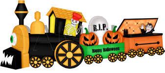 Le train d'Halloween