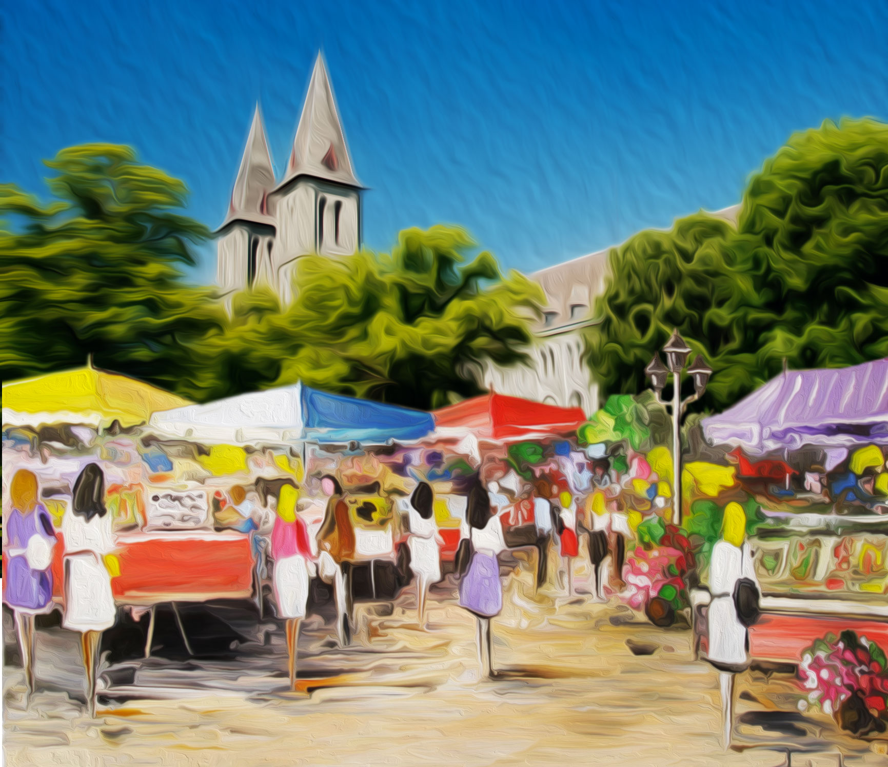 Le village provençal à Maredsou