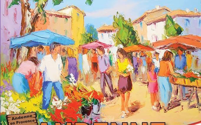 Le village provençal à Andenne