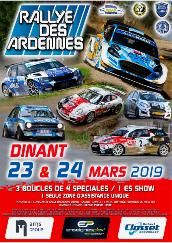 Rallye des Ardennes - édition