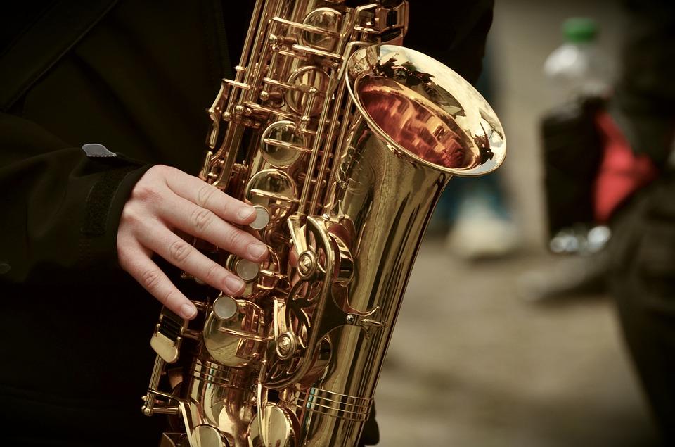 Concert de saxophone à l'église