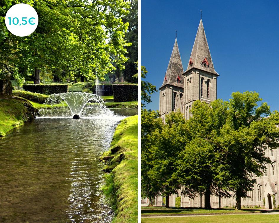 Jardins d'Annevoie et Abbaye