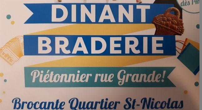 Grande braderie à Dinant