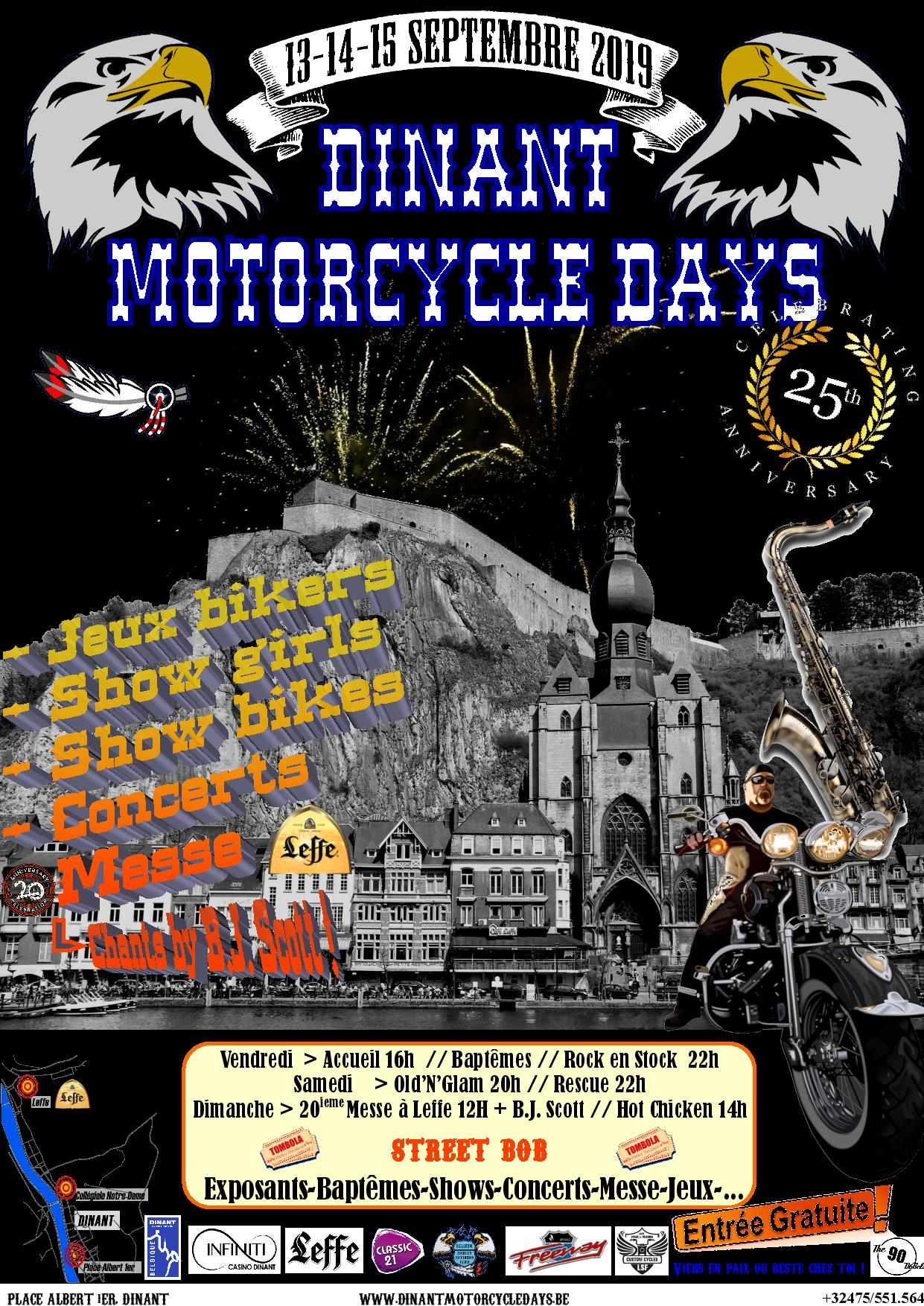 Dinant Motorcycle days