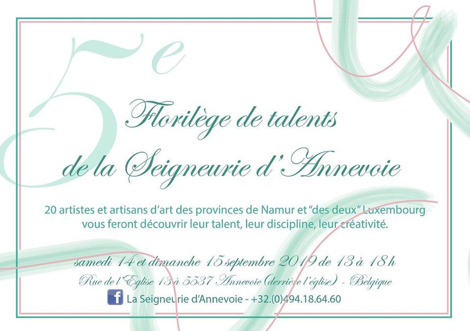 Florilège de talents à Annevoie