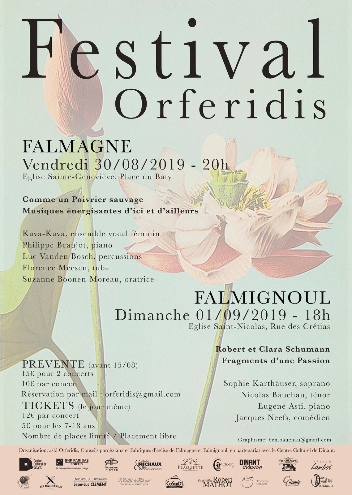 Festival Orferidis à Falmagne
